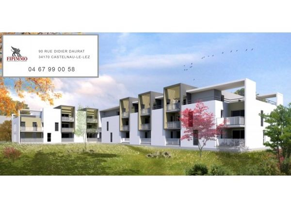 Thumbnail Apartment for sale in 34670, Saint-Bres, Fr