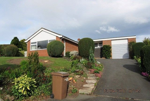 Thumbnail Bungalow to rent in Oerley Close, Oswestry
