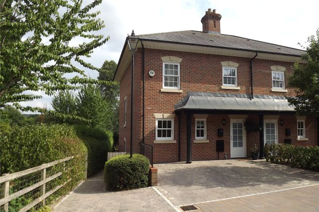 Thumbnail End terrace house to rent in Quoitings Drive, Marlow, Buckinghamshire