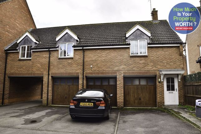 Thumbnail Maisonette to rent in Gibbards Close, Sharnbrook, Bedford