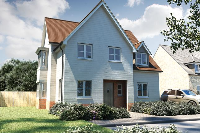"Thumbnail Detached house for sale in ""The Malham"" at Bishopsfield Road, Fareham"