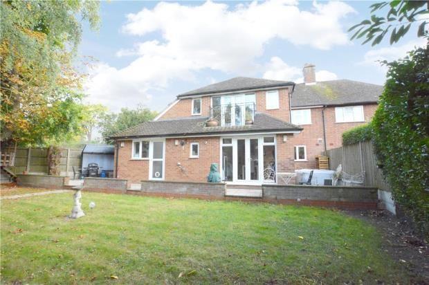 Thumbnail Semi-detached house for sale in Fernhurst Close, Beaconsfield, Buckinghamshire