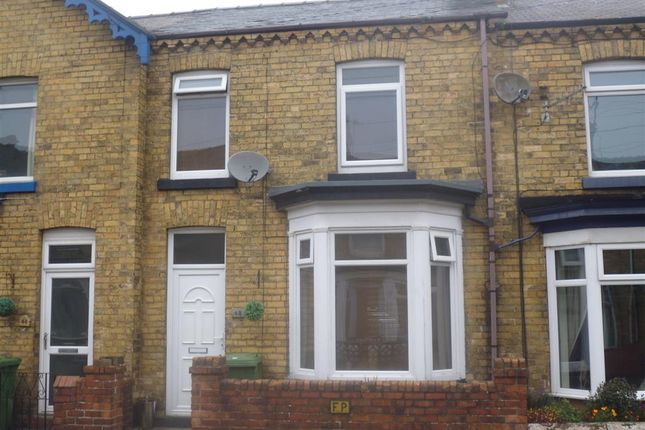 Thumbnail Terraced house to rent in Wykeham St, Scarborough