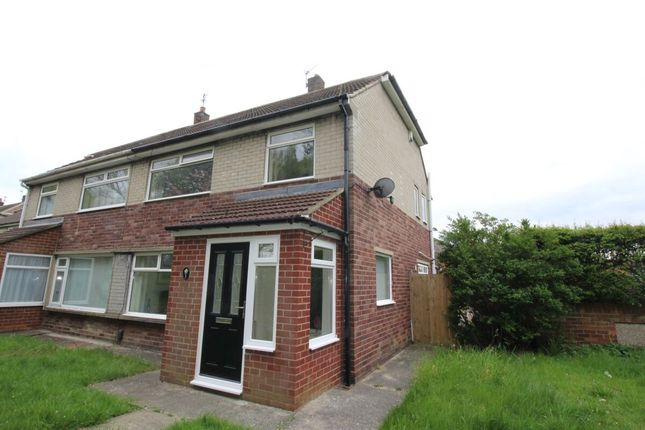 Thumbnail Semi-detached house to rent in The Willows, Hebburn