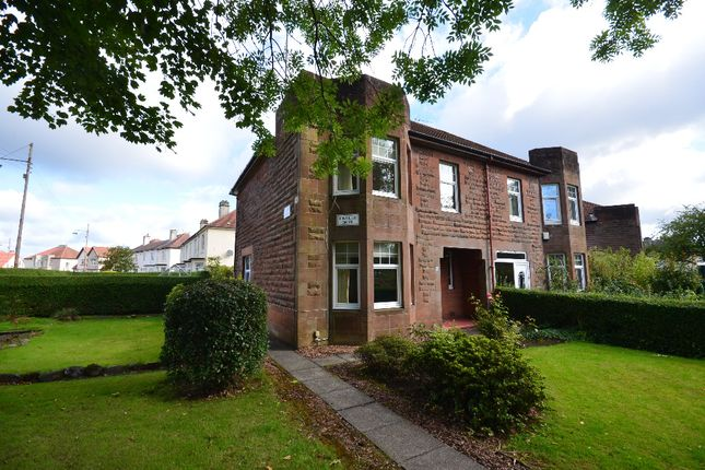 Thumbnail Semi-detached house for sale in Kintillo Drive, Scotstounhill, Glasgow