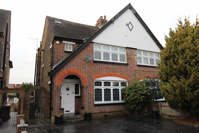 Thumbnail Semi-detached house for sale in Heathcote Grove, North Chingford, London