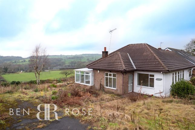 Thumbnail Detached bungalow for sale in Copthurst Lane, Whittle-Le-Woods, Chorley