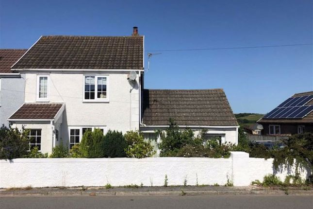 Thumbnail Semi-detached house for sale in Heol Treventy, Cross Hands, Llanelli