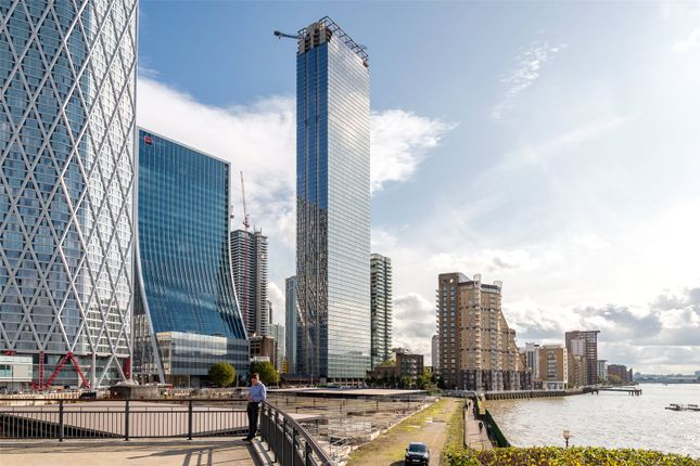Thumbnail Flat for sale in Landmark Pinnacle, Westferry Road, Canary Wharf