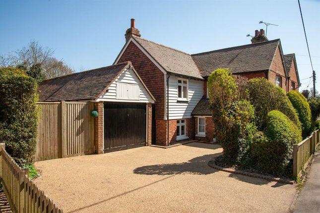 3 bed semi-detached house for sale in The Slade, Lamberhurst, Tunbridge Wells TN3