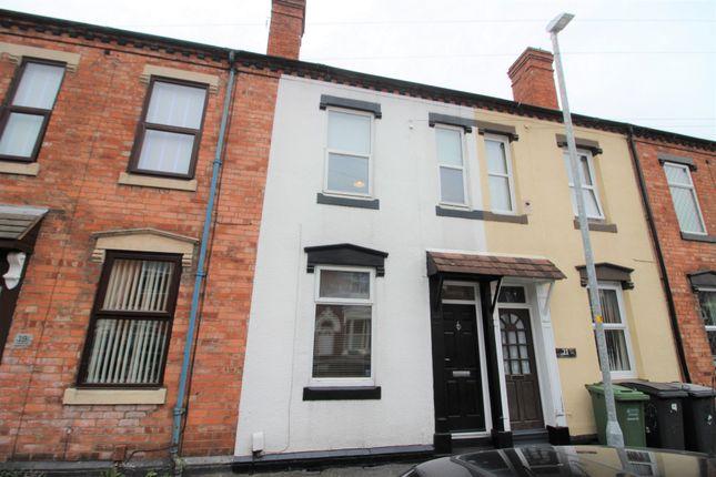 Thumbnail Terraced house for sale in Cobden Street, Kidderminster