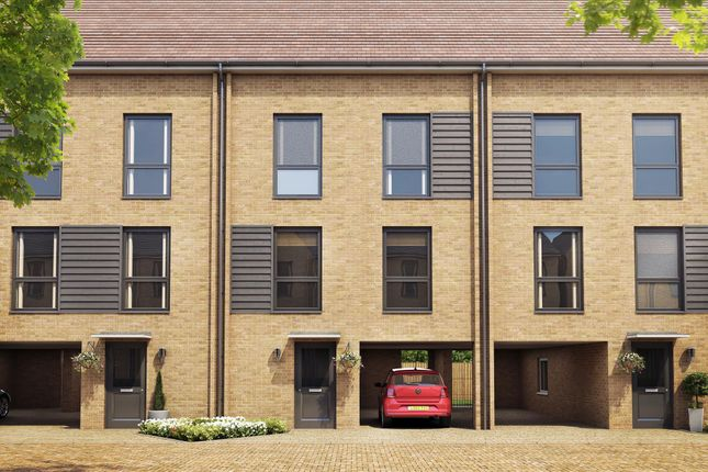 "Thumbnail Terraced house for sale in ""Herringbone II"" at Hackbridge Road, Wallington"