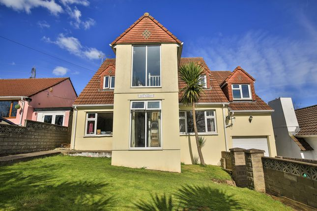 Thumbnail Detached house for sale in Mountain Road, Bedwas, Caerphilly