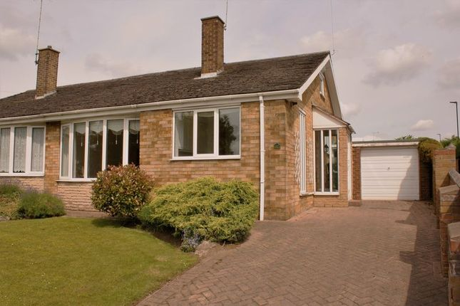 Thumbnail Semi-detached bungalow for sale in The White Towers Caravan Site, Armthorpe Road, Doncaster