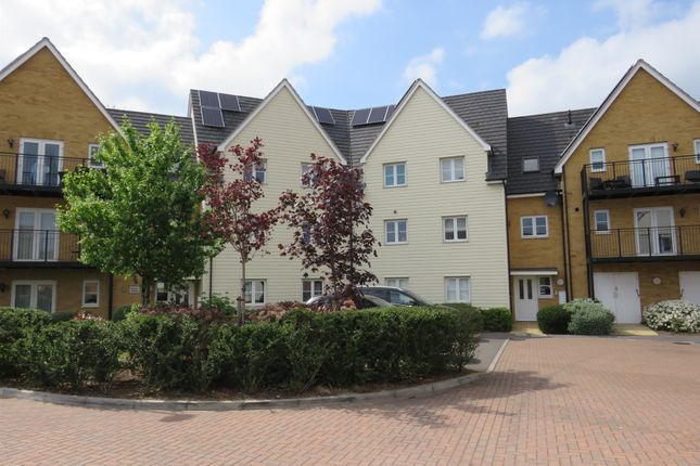 Thumbnail Flat for sale in Whitworth Avenue, Noak Hill, Romford