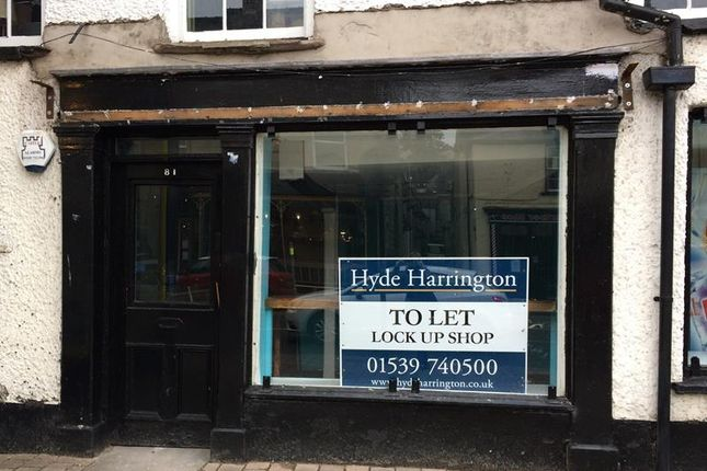 Thumbnail Retail premises to let in 81 Highgate, Highgate, Kendal, Cumbria
