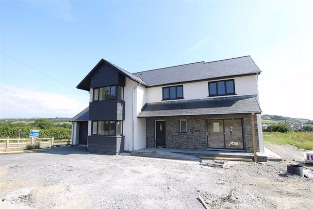 Thumbnail Detached house for sale in Cefn Ceiro, Llandre, Bow Street