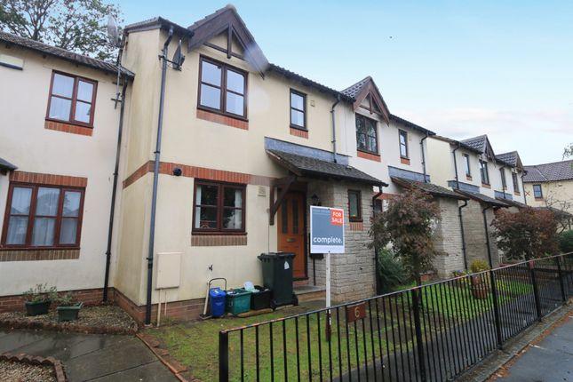 Thumbnail 3 bed terraced house for sale in Slanns Meadow, Kingsteignton, Newton Abbot