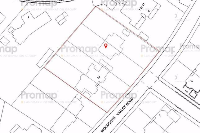 Thumbnail Land for sale in Woodcote Valley Road, Purley