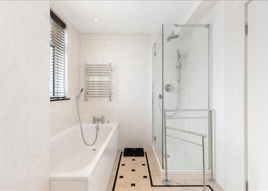 Bathroom of Chancellor House, Kensington, London SW7