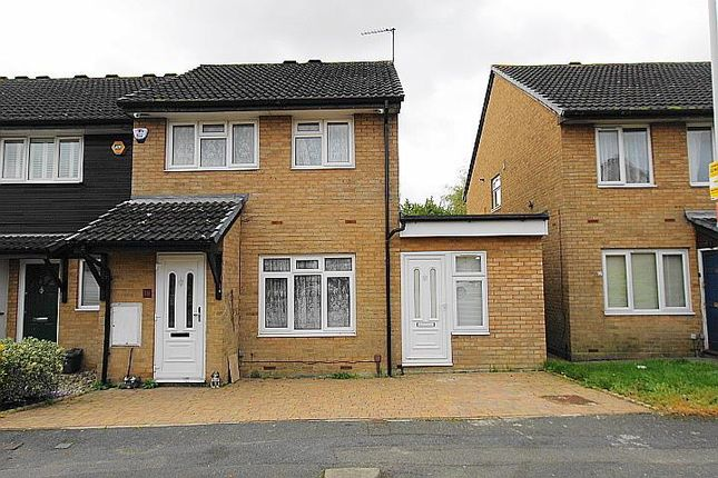 Thumbnail Semi-detached house to rent in Stipularis Drive, Hayes, Middlesex