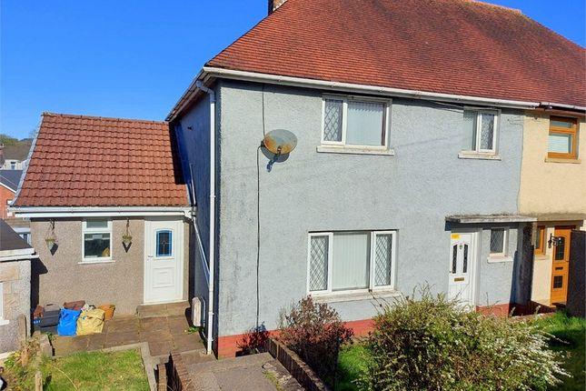 Thumbnail Semi-detached house for sale in Heol-Y-Llwyni, Maesteg, Mid Glamorgan