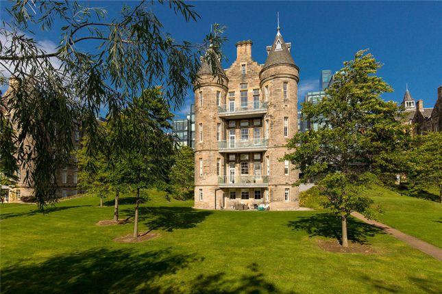 Thumbnail Flat for sale in Flat 5, 23 Simpson Loan, Quartermile, Edinburgh