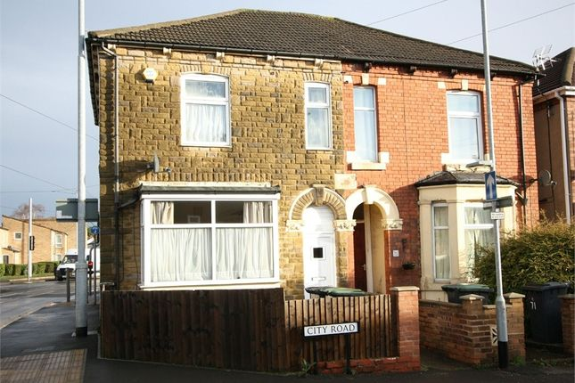 Thumbnail End terrace house to rent in City Road, Beeston, Nottingham