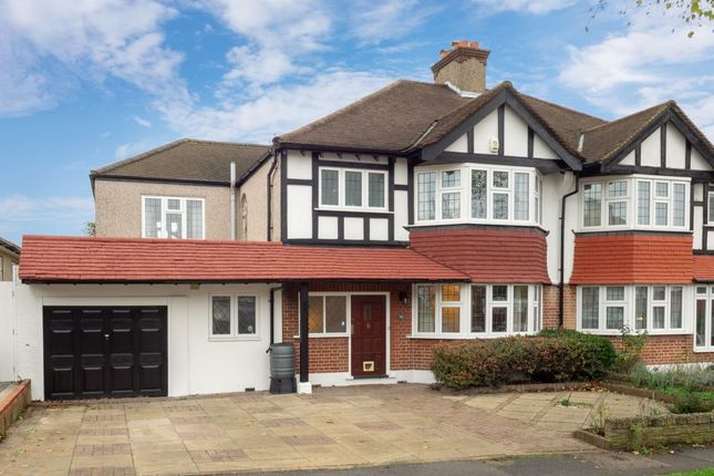 Thumbnail Semi-detached house for sale in Summerville Gardens, Cheam, Sutton