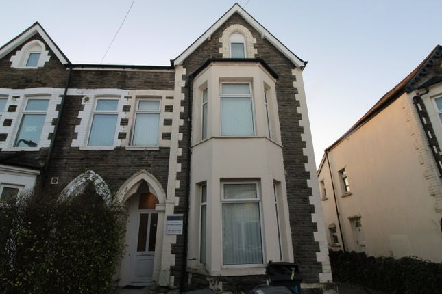 Thumbnail Flat to rent in Gordon Road, Roath, Cardiff