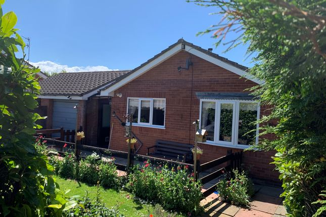 Thumbnail Detached bungalow for sale in Girtrell Road, Upton, Wirral