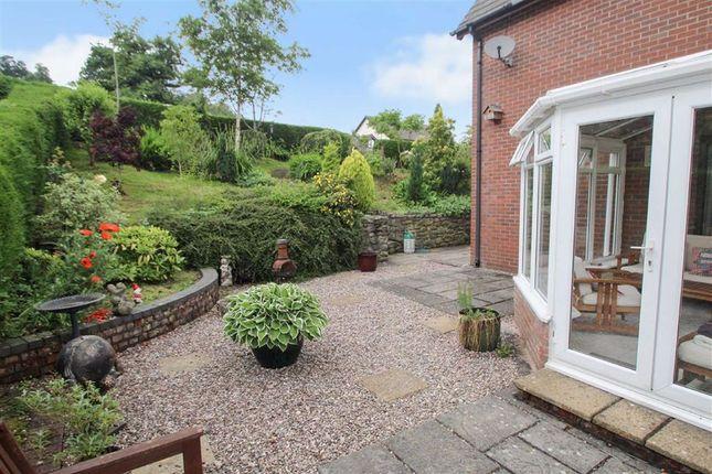 Rear Garden of Llwyn Y Garth, Llanfyllin SY22