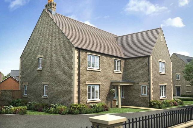 "Thumbnail Detached house for sale in ""The Burghley - Plot 51"" at Tinwell Road, Stamford"
