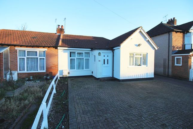 Thumbnail Semi-detached bungalow to rent in Vegal Crescent, Englefield Green