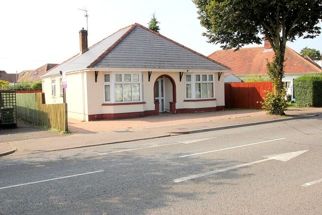 Thumbnail Bungalow for sale in Manor Way, Heath, Cardiff