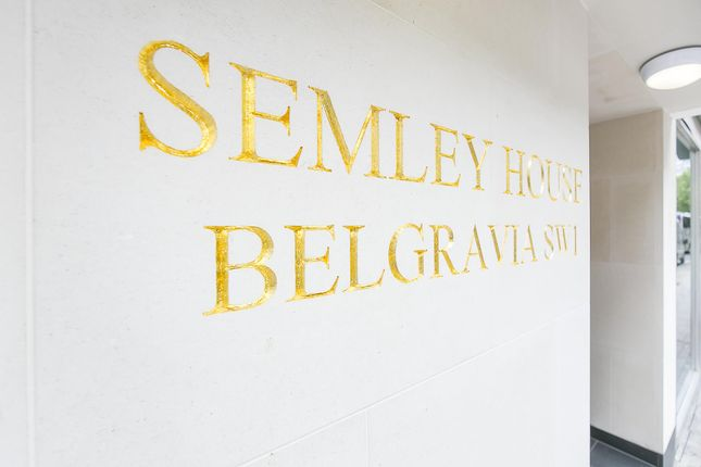 Thumbnail Flat for sale in Semley House, Semley Place, Belgravia
