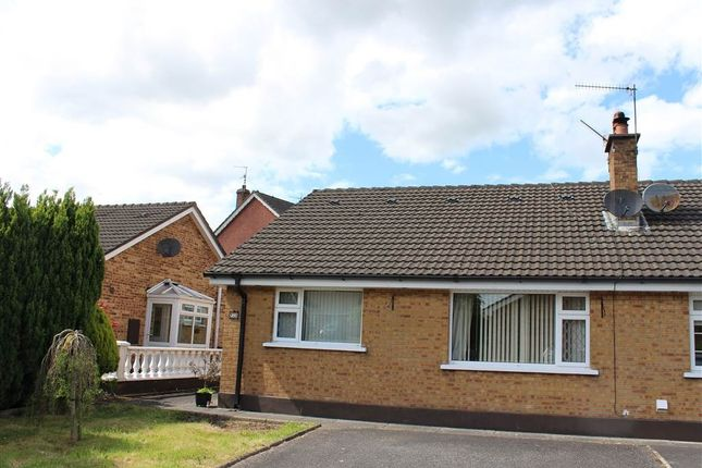 Thumbnail Semi-detached bungalow for sale in Drumcashel Court, Newry