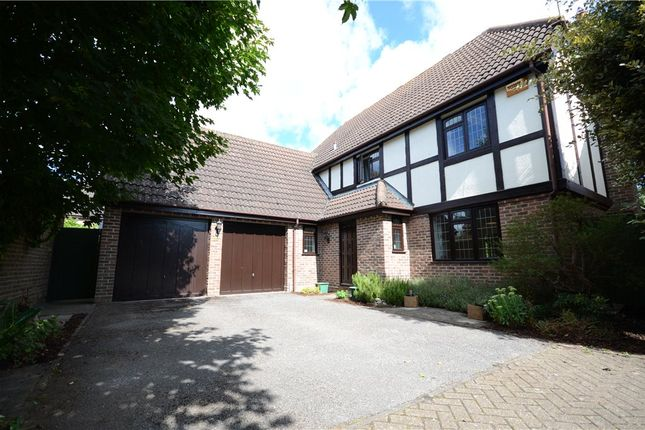 Thumbnail Detached house for sale in Reynolds Green, College Town, Sandhurst