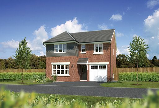 "Thumbnail Detached house for sale in ""Dukeswood"" At Sherbourne Avenue, Chester CH4, Chester,"