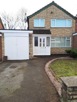 Thumbnail Link-detached house to rent in Ashburton Road, Kings Heath, Birmingham