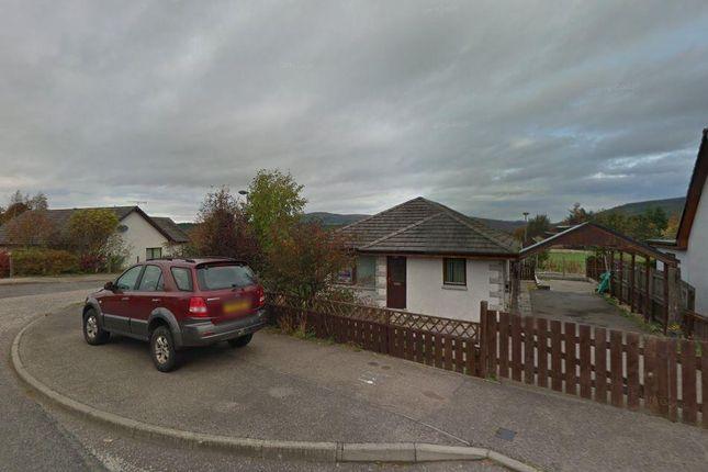 Thumbnail Detached bungalow for sale in Kirk Road, Cromdale, Grantown-On-Spey