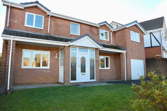 Thumbnail Detached house for sale in Winchfawr Park, Heolgerrig, Merthyr Tydfil