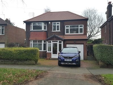 Thumbnail Detached house to rent in Homewood Road, Northenden