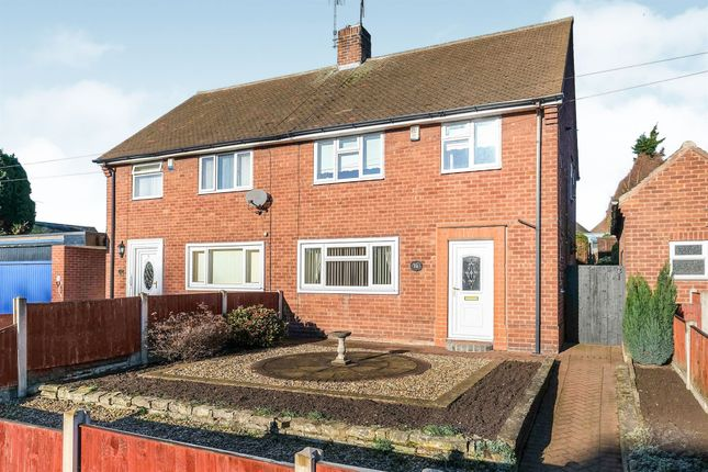 Thumbnail Semi-detached house for sale in Plantation Hill, Worksop