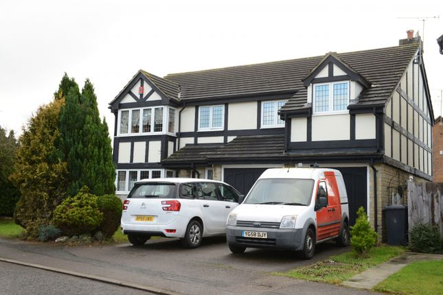Thumbnail Detached house to rent in Burford Close, Luton