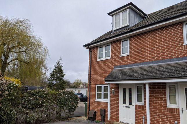 Thumbnail End terrace house to rent in Redlands Lane, Fareham