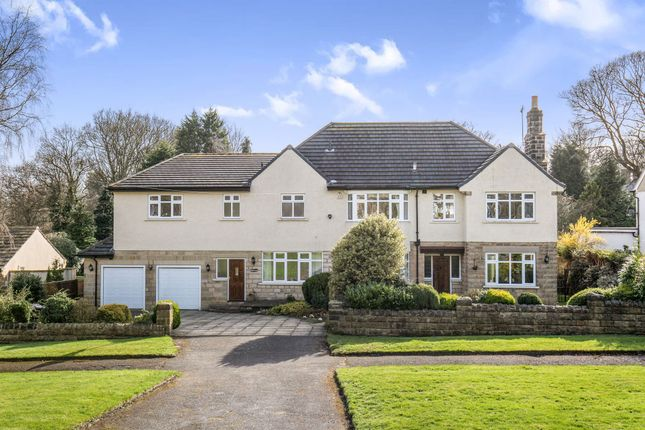 Thumbnail Detached house for sale in Foxhill Avenue, Weetwood, Leeds