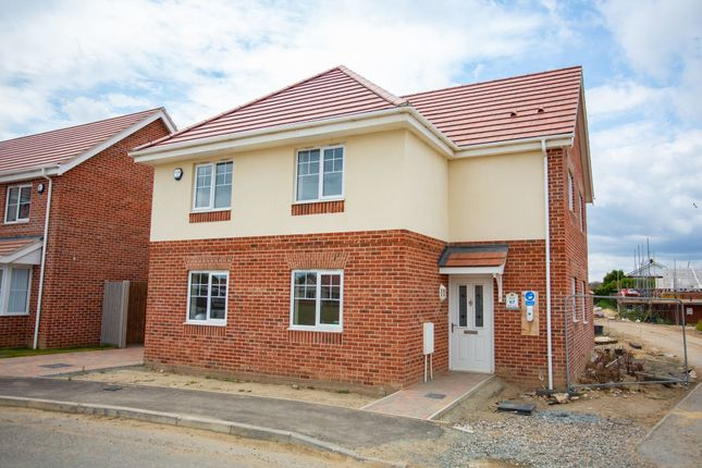 Thumbnail Detached house for sale in Claydon Park, Off Beccles Road, Gorleston