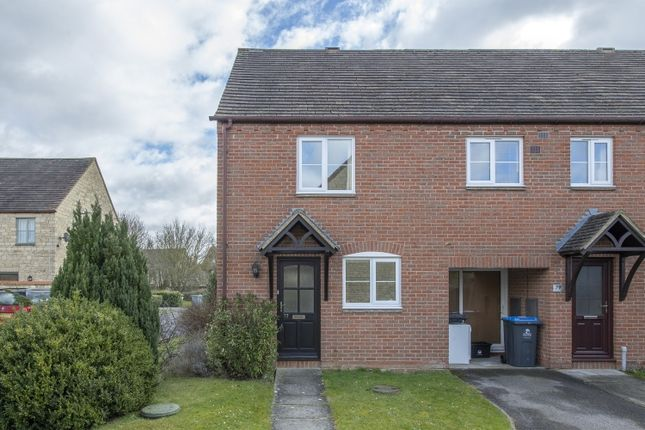 Thumbnail End terrace house to rent in Snowshill Drive, Witney