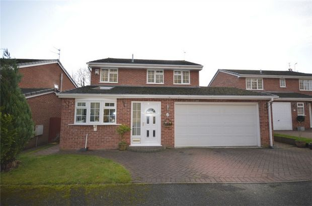 Thumbnail Detached house for sale in Tanar Close, Spital, Merseyside